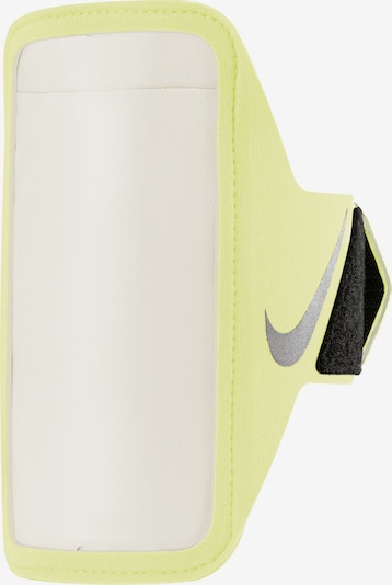 NIKE Accessoires Handytasche in neongelb / schwarz / silber, Produktansicht