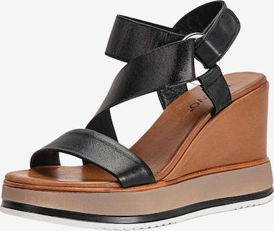 INUOVO Sandalen in schwarz, Produktansicht
