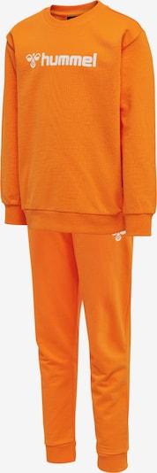 Hummel Trainingsanzug 'Spring' in hellorange / weiß, Produktansicht