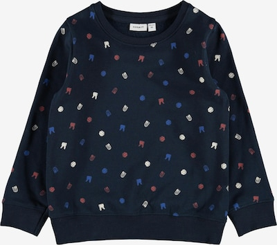 NAME IT Sweatshirt 'Loui' in Night blue / Mixed colours, Item view