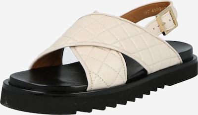 Sandale cu baretă Billi Bi pe alb murdar, Vizualizare produs