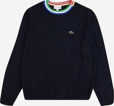 LACOSTE Pullover in blau / dunkelblau / hellgrün / mischfarben / weiß, Produktansicht