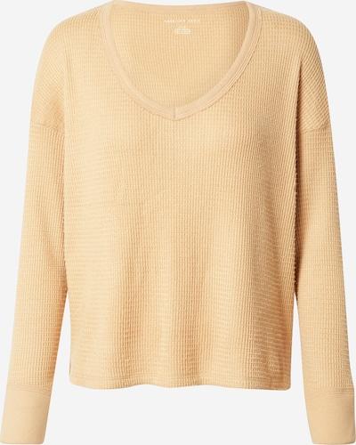 American Eagle Sweat-shirt en sable, Vue avec produit