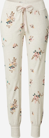 TRIUMPH Pantalon de pyjama 'Mix & Match' en nude / mélange de couleurs, Vue avec produit