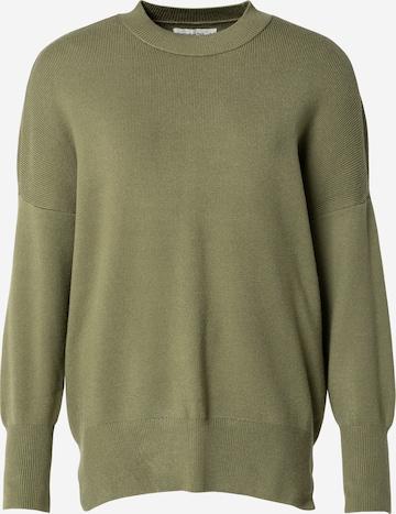 Abercrombie & Fitch Kampsun, värv roheline