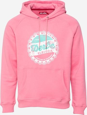 Derbe Sweatshirt in Pink