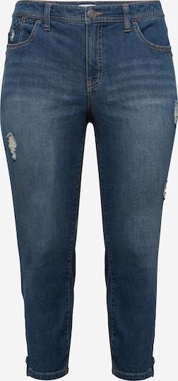 Jeans SHEEGO pe albastru denim, Vizualizare produs