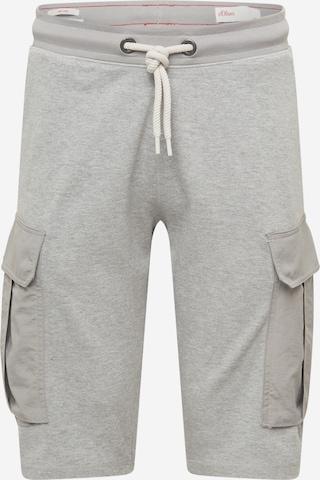 Pantalon cargo s.Oliver en gris
