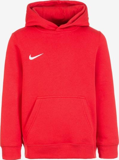 NIKE Sportsweatshirt 'Club 19' in rot / weiß, Produktansicht