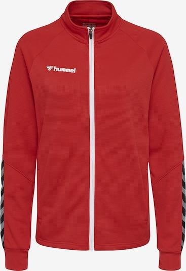 Hummel Jacke in rot / schwarz / weiß, Produktansicht