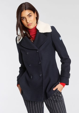 Tom Tailor Polo Team Winter Coat in Blue
