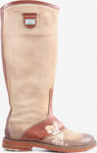 La Martina Dress Boots in 36 in Cream / Brown, Item view