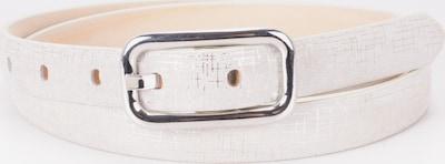 BA98 Ledergürtel in weiß, Produktansicht