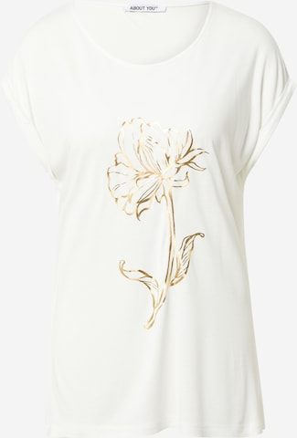 ABOUT YOU T-shirt 'Camilla' i beige