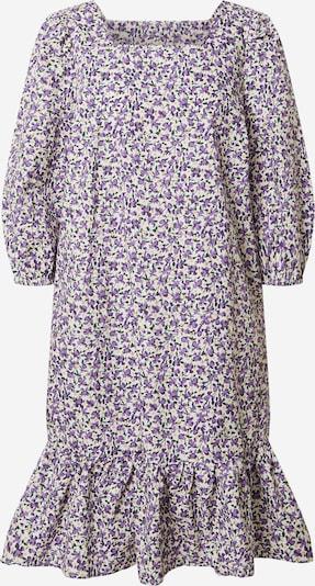 NÜMPH Robe 'Nucalder' en jaune / violet / blanc, Vue avec produit
