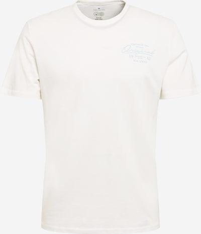 TOM TAILOR T-Krekls tirkīza / balts, Preces skats