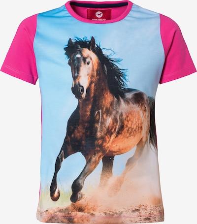 RED HORSE T-Shirt für Mädchen in pink, Produktansicht