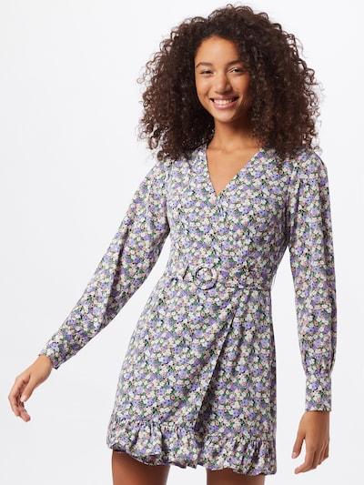 Fashion Union Kleid 'Trayley' in lila / mischfarben, Modelansicht