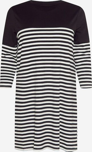 ONLY Carmakoma Jurk 'Viol' in de kleur Zwart / Wit, Productweergave