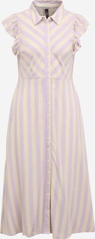 Robe-chemise 'SAVANNA' Y.A.S Petite en beige