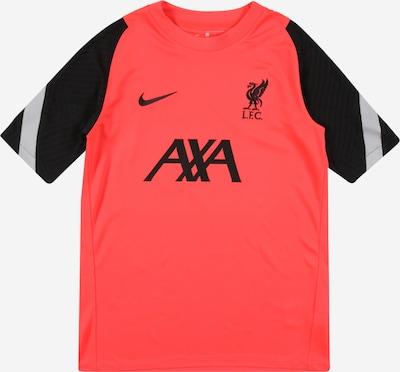 NIKE T-Shirt in rot / schwarz, Produktansicht
