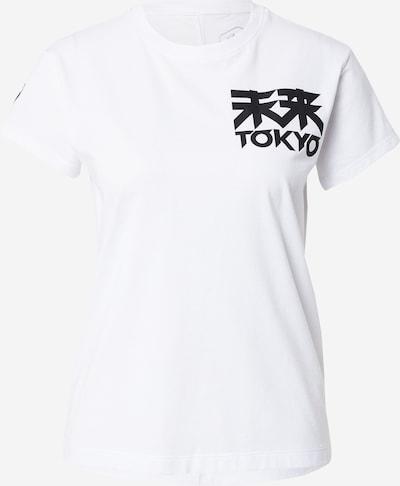 ASICS T-shirt fonctionnel 'FUTURE TOKYO' en noir / blanc, Vue avec produit