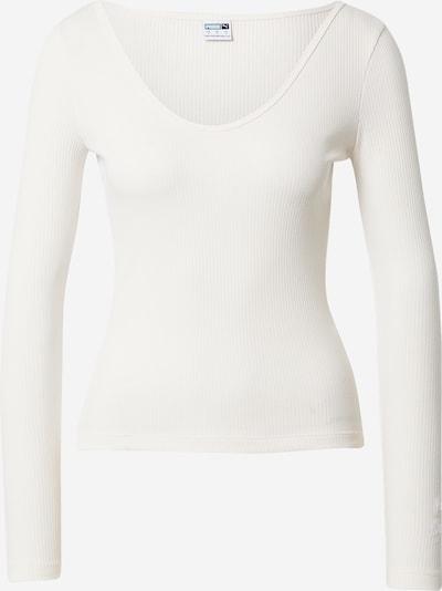 PUMA Shirt in de kleur Natuurwit, Productweergave