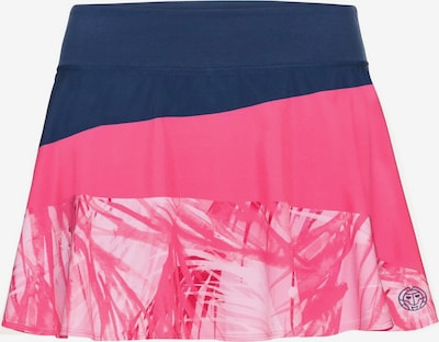 BIDI BADU Skort Mora im farbenfrohen Design in blau / pink: Frontalansicht
