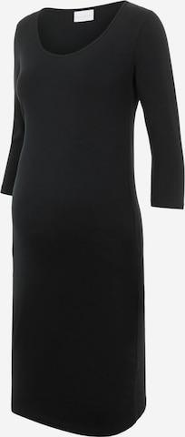 Robe MAMALICIOUS en noir