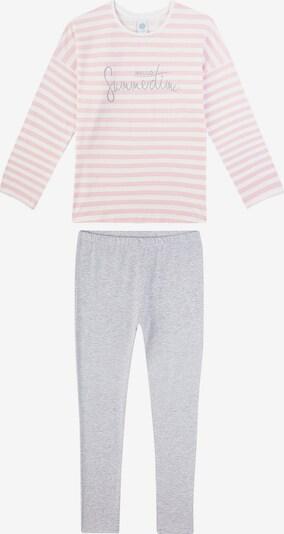 SANETTA Pižama | siva / roza / bela barva, Prikaz izdelka