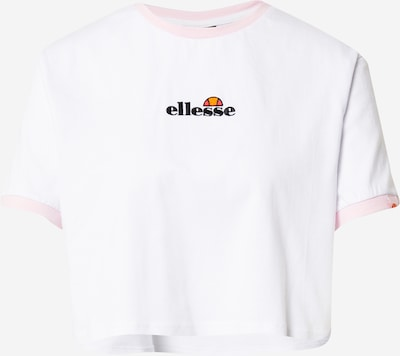 Tricou ELLESSE pe roz / negru / alb, Vizualizare produs