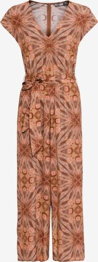 HALLHUBER Jumpsuit mit Batikdruck in mischfarben: Frontalansicht