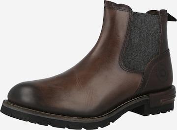 bugatti Chelsea Boots 'Sentra' in Brown