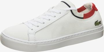 LACOSTE Sneaker 'La Piquee' in Weiß