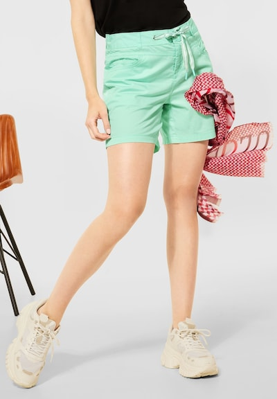 STREET ONE Shorts in mint, Modelansicht