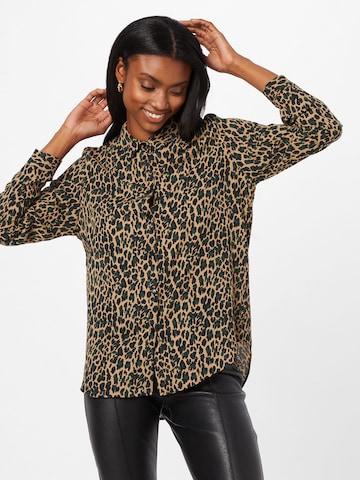 Camicia da donna di VILA in marrone