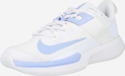 NIKE Chaussure de sport 'Court Vapor Lite' en bleu clair / blanc, Vue avec produit
