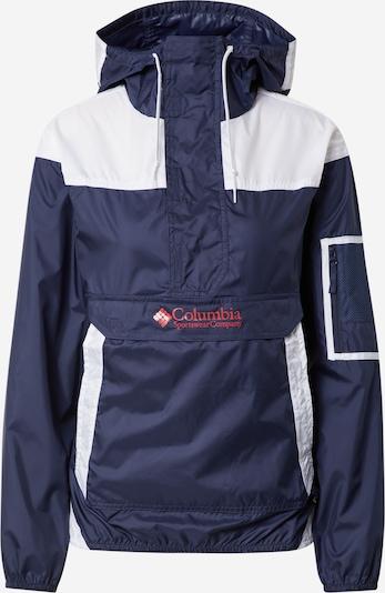 COLUMBIA Jacke 'Challenger' in marine / rot / weiß, Produktansicht