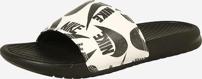 Nike Sportswear Mule 'Benassi JDI' en noir / blanc, Vue avec produit