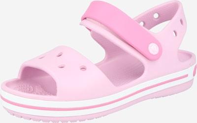 Crocs Chaussures ouvertes 'Crocband' en rose / rose clair, Vue avec produit