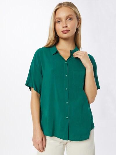 Bluză UNITED COLORS OF BENETTON pe verde smarald, Vizualizare model