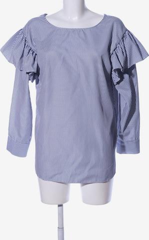 Storets Oversized Bluse in S in Blau