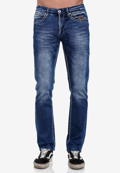 Rusty Neal Jeanshose 'Almota' in blau, Modelansicht