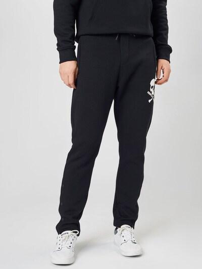 THE KOOPLES SPORT Панталон в черно / бяло, Преглед на модела