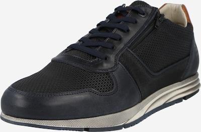 BULLBOXER Sneaker in dunkelblau / braun, Produktansicht