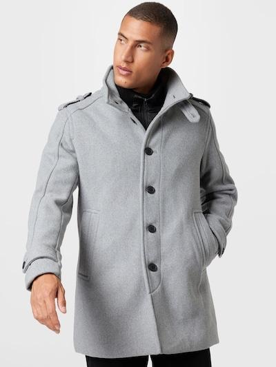 SELECTED HOMME Mantel in graumeliert, Modelansicht