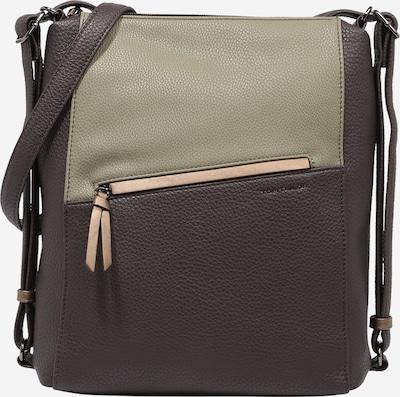 TOM TAILOR Bolso de hombro 'SORAYA' en marrón / brocado, Vista del producto
