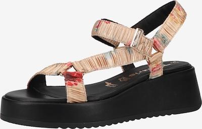 TAMARIS Páskové sandály - béžová / mix barev, Produkt