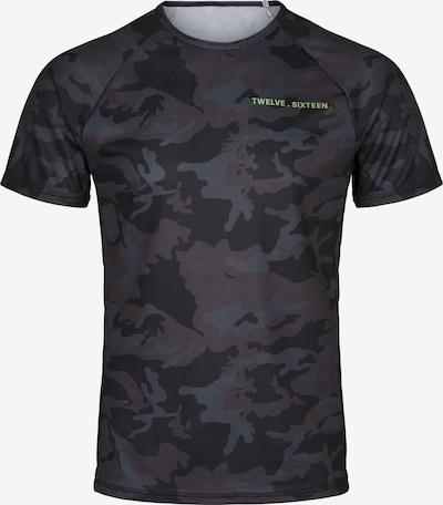 Twelvesixteen 12.16 Laufshirt Run T-Shirt in schwarz, Produktansicht