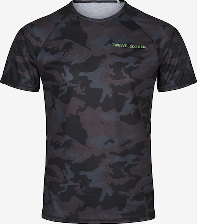 Twelvesixteen 12.16 Laufshirt Run T-Shirt in de kleur Zwart, Productweergave